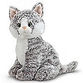Melissa And Doug Plush Tabby Greycie