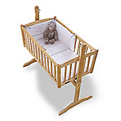 Clair De Lune Stardust Rocking Crib Bedding Set - Cream