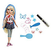 Moxie Girlz Magic Hair Stamp Designer - Avery Doll