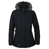 Trespass Ladies Purdey Quilted Jacket - Black