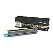 Lexmark C925 Yellow High Yield Toner Cartridge (7.5K)