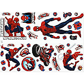Spiderman Bedroom Stickers - Ultimate Spiderman