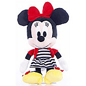 "10"" I Love Minnie Mouse Monochrome Style"