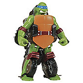 Turtles Mutations Deluxe Figures - Turtle to Vehicle - Leo