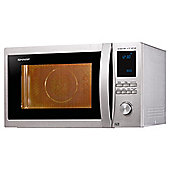 Sharp R922STM 32L 1000W Combination Microwave - Stainless Steel