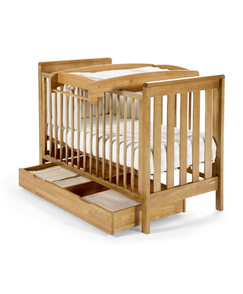Mamas & Papas - Under Cot Storage - Golden Oak