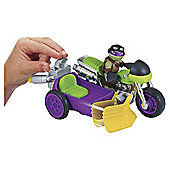 Teenage Mutant Ninja Turtles Half-Shell Heroes Rippin' Rider with Donatello