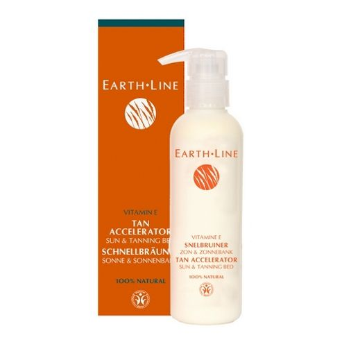 Earth Line Tan Accelerator (Sun And Tanning bed) (200ml Cream)