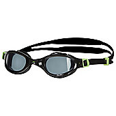 Junior Futura Plus Green Grey & Blue Blue Goggles