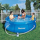 Bestway 8ft Fast Set Pool Set (Pool & 330 Pump)