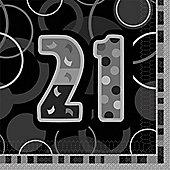 21st Paper Luncheon Napkins 33cm