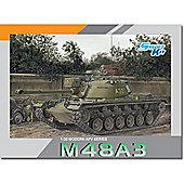 Dragon 3546 M48A3 Tank 1:35 Smart Model Kit