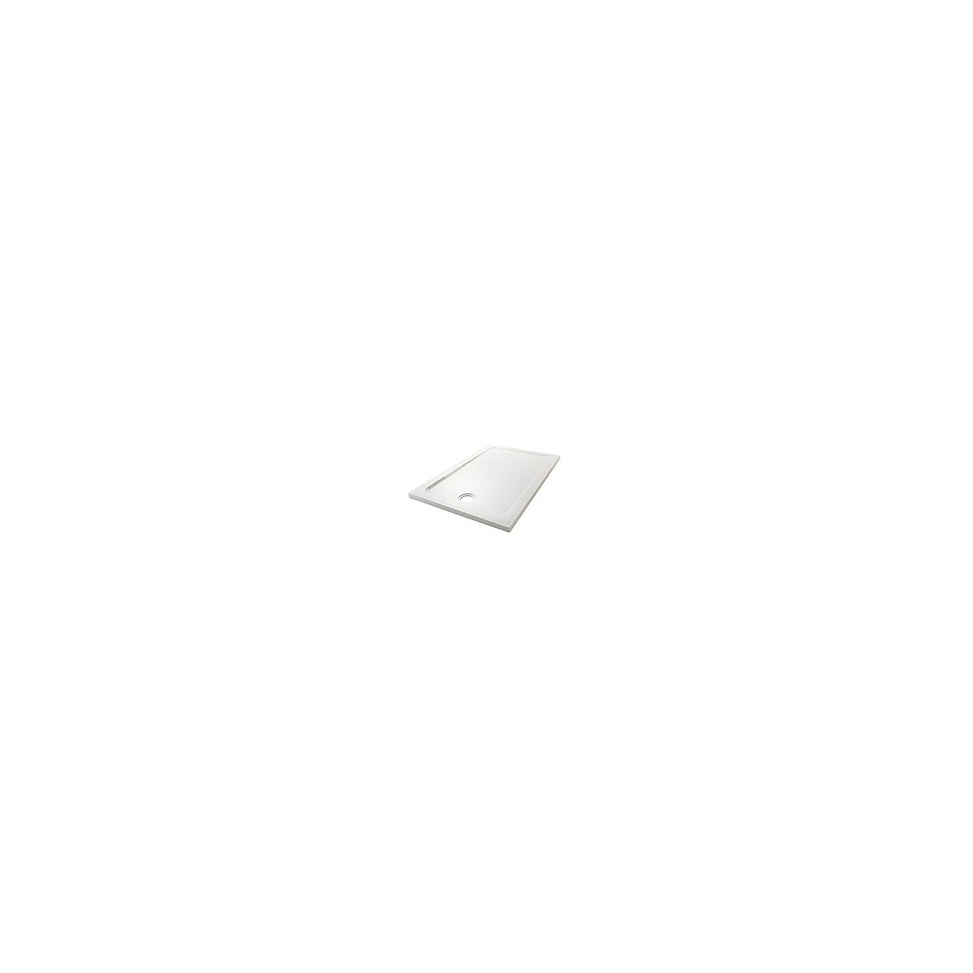 Mira Flight Low Profile Rectangular Shower Tray 1600mm x 760mm at Tesco Direct