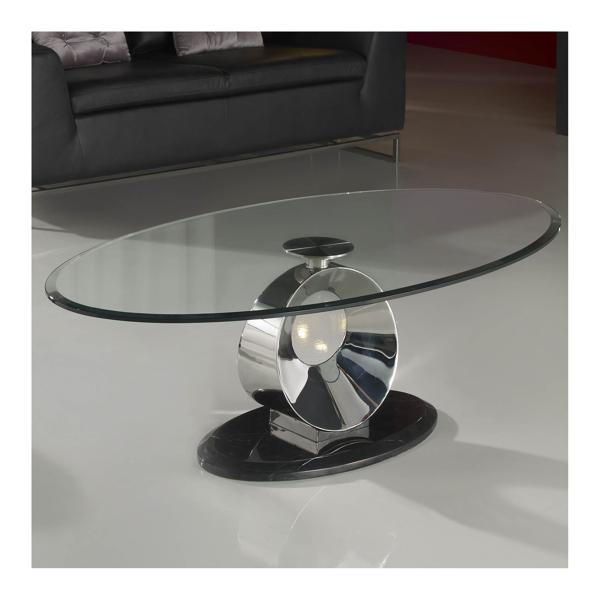 Schuller Luna Oval Coffee Table at Tesco Direct