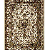 Think Rugs Regency Ivory/Beige Tranditional Rug - 120 cm x 170 cm (3 ft 9 in x 5 ft 7 in)