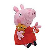 """Ty Peppa Pig Beanie 6"""""""