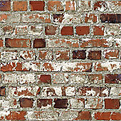 Muriva Loft Red Brick Wallpaper - 102538
