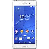 Sony Xperia Z3 (5.2 inch) Android HD Smartphone 3GB 1080P Full HD Display 20.7MP Camera (White)