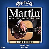 Martin M150 Medium Bronze Acoustic Guitar Strings