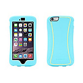 Griffin Survivor Slim TwoTone Case for iPhone6 Plus - Turquoise/Lemon