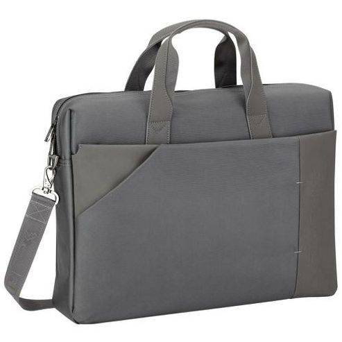 RIVACASE 8150 17 Inch Laptop Bag, Dark Grey
