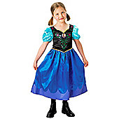 Anna Classic Disney Frozen Costume - Large 7-8 years