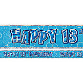 Dazzling Effects 13th Birthday Banner - 12ft (each)