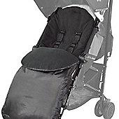 Britax Footmuff Buggy Puschair Pram Smart Dual Motion Agile Black