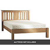 JN Direct Berkley Solid Oak 4ft6 Double Bed