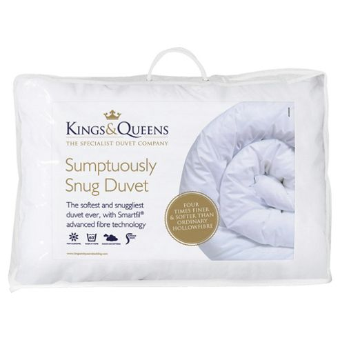 Kings & Queens Sumptuously Snug Duvet, Single, 10.5 Tog
