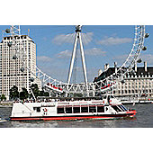 Thames Sightseeing Cruise Pass with EDF Energy London Eye for Two