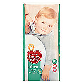 Tesco Loves Baby Ultra Dry Size 4+ Maxi+ Econ Pack 44