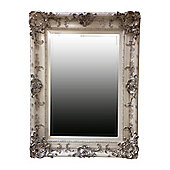 Alterton Furniture Swept Frame Mirror - White and Silver
