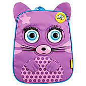 Wow Packs Electronic Kids' Backpack, Purple Cutezee The Kitten