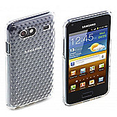 Clear Diamond Pattern TPU for Galaxy Advance
