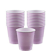 Plastic Cups 266ml, Pack of 20