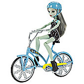 Monster High Frankie Stein Doll Boltin' Bicycle