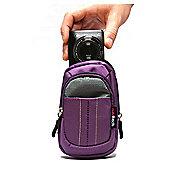 Purple Camera Case For The Sony W800 Digital Camera