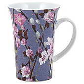 Tesco Tall Tulip Rose Purple Mug, Single