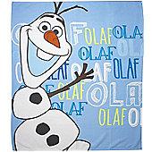 Frozen Olaf Fleece Blanket
