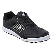 Woodworm Surge Casual Spikeless Street Golf Shoes - Black