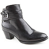 Caravelle Ladies Hilary Black Ankle Boots