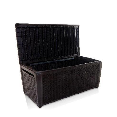Buy Keter Sumatra Rattan Style Jumbo Garden Storage Deck Box XL 511