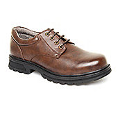 Caravelle Mens Broadside Brown Lace-up Shoes
