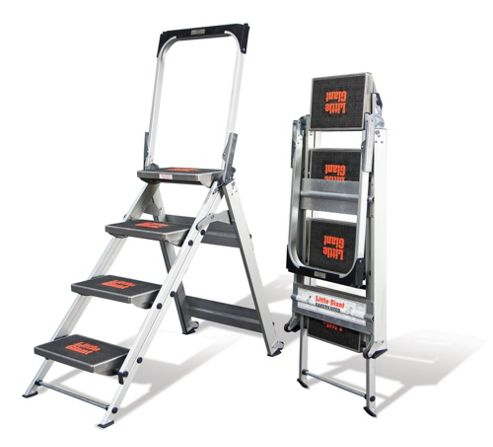 Heavy Duty 4 Tread Little Giant Safety Step Ladder
