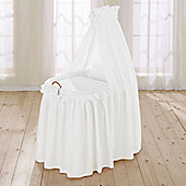 Leipold Noblesse Full Length Drape Crib in White