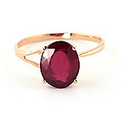 QP Jewellers 3.50ct Ruby Marvel Ring in 14K Rose Gold