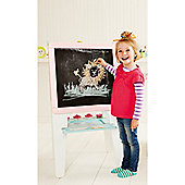 ELC Wooden Double Sided Easel - Pink