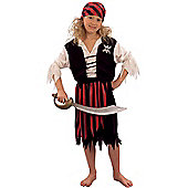 Pirate Girl - Child Costume 7-9 years