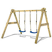 WICKEY SkyBob 240 Premium Wooden Swing Set for Children